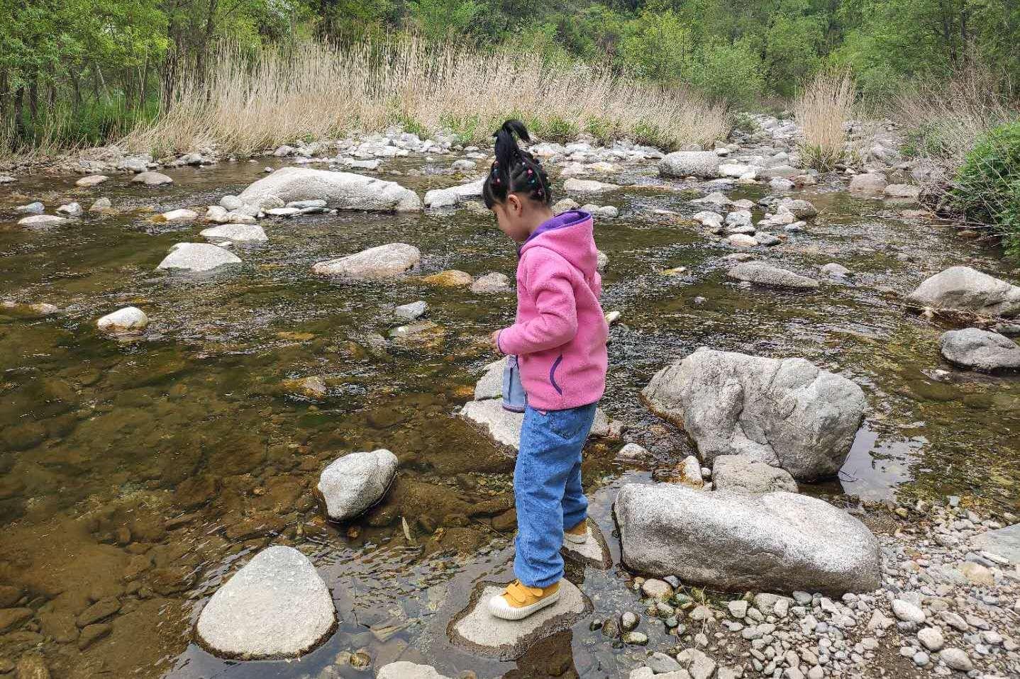 自驾西安秦岭库峪,发现一处世外桃源,有山有水是不是很美呢