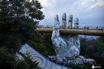 越南巴拿山佛手橋
