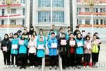 許昌實驗中學初三年級舉行升旗儀式暨期中考試表彰大會