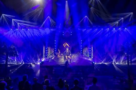 大型户外演出舞台灯光设计技巧 杭州演出