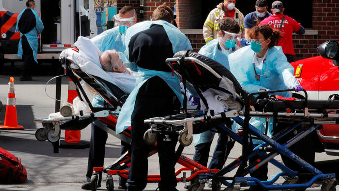 FoxNews:美国新泽西108岁老人战胜新冠病毒,她说上天注定我能活下来