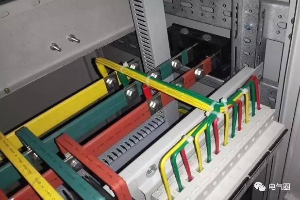室内高低压开关柜母线设计比例尺 低压配