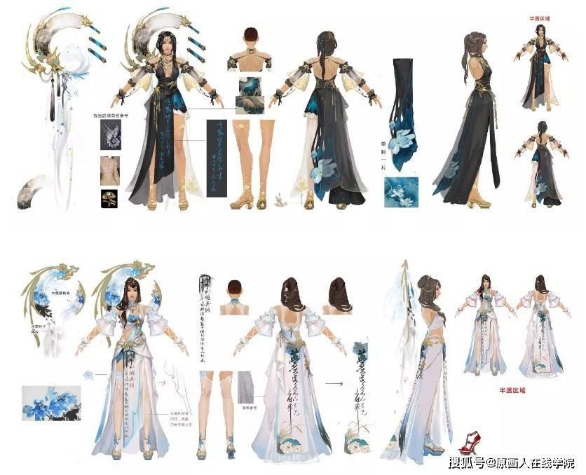 我平时参与角色设计,尤其是服装设计多一些.图片