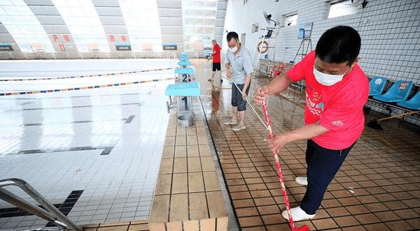 晋江体育中心游泳馆下周二开馆