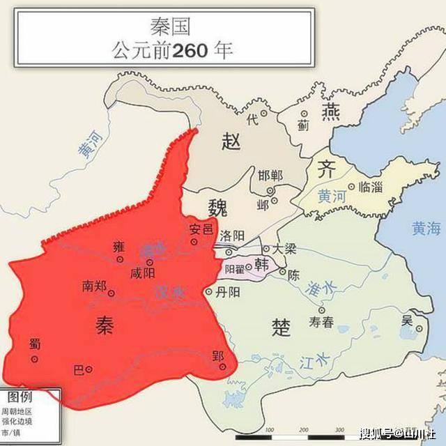 秦始皇一统六国,除军事实力、经济实力外,还有一隐形实力更关键