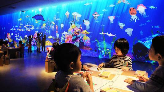 画画水族馆