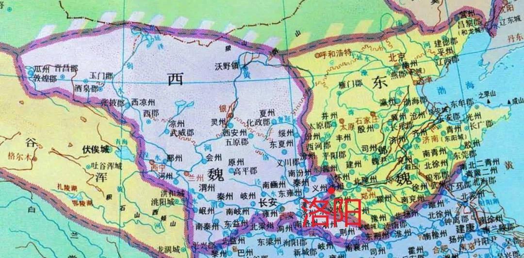 """原创中国唯一的""""神都"""",如今沦为三线城市图片"""
