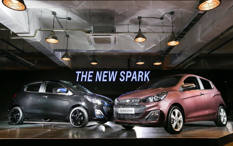 大嘴造型,个性化定制,2021款雪佛兰Spark Spark亮相