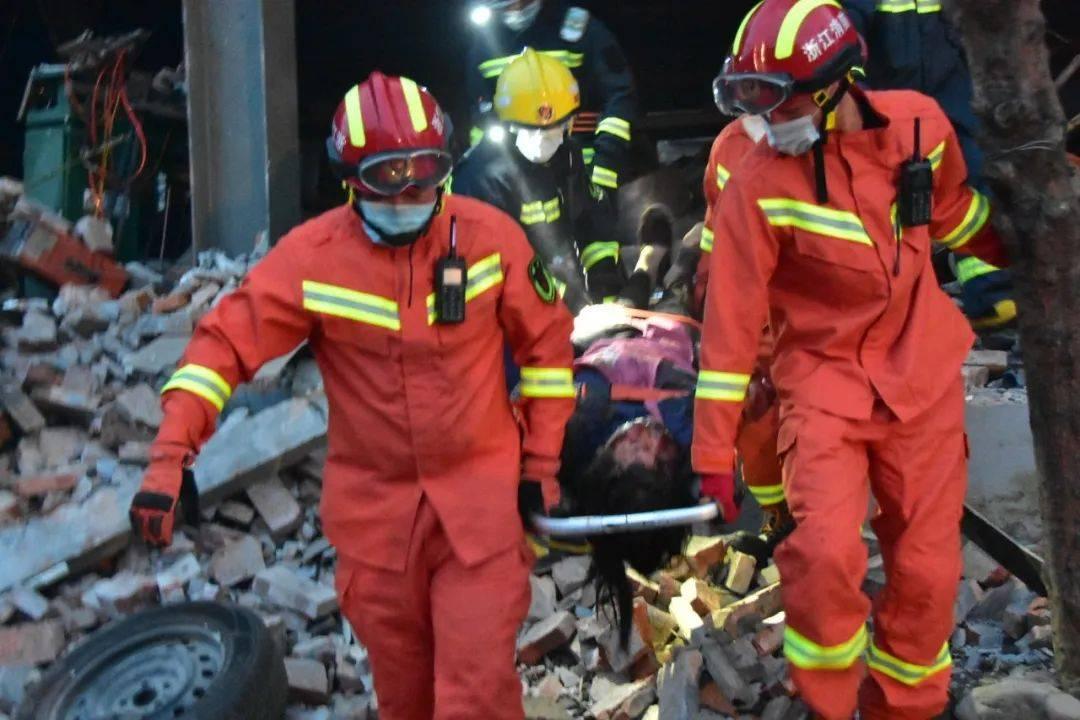 浙江温岭槽罐车爆炸事故 已造成10人死亡 117人受伤