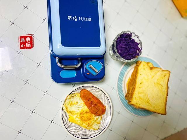 早餐@三明治再也不是敢看不敢做了,有了早餐机