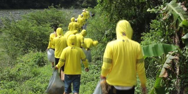 青山绿水保卫战 本特环保公益运动