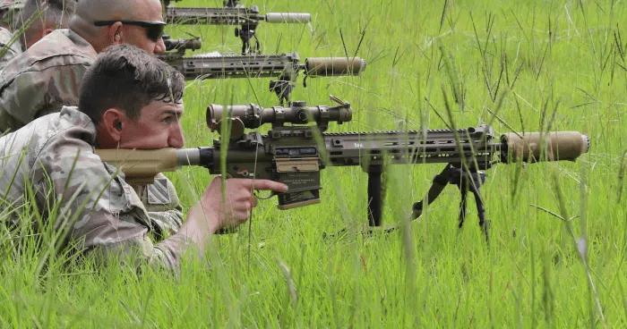 枪械大国国货的悲哀?美军放弃自产狙击步枪,转而采购德国HK产品_德国新闻_德国中文网
