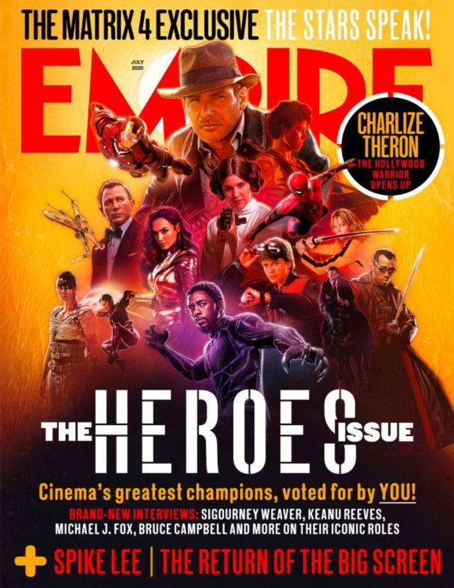 最伟大的50名银幕英雄评选,观众从未像今天这样需要英雄