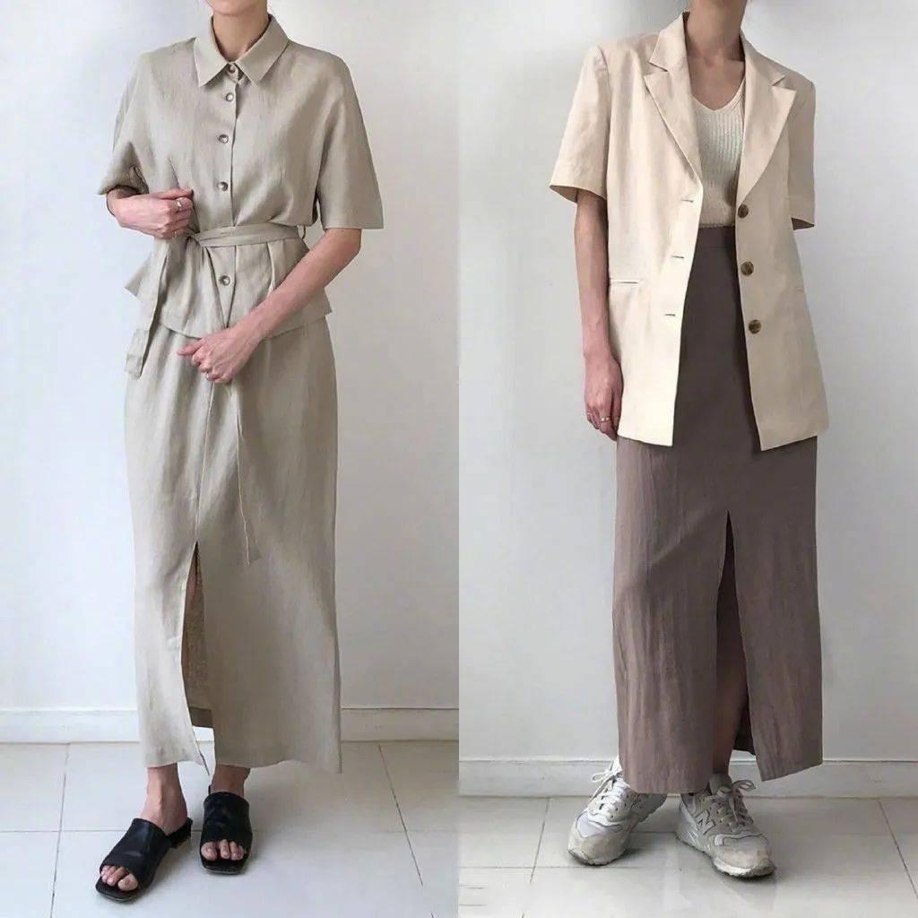 夏日想要穿出满满的高级感?用干净的纯色单品就能营造
