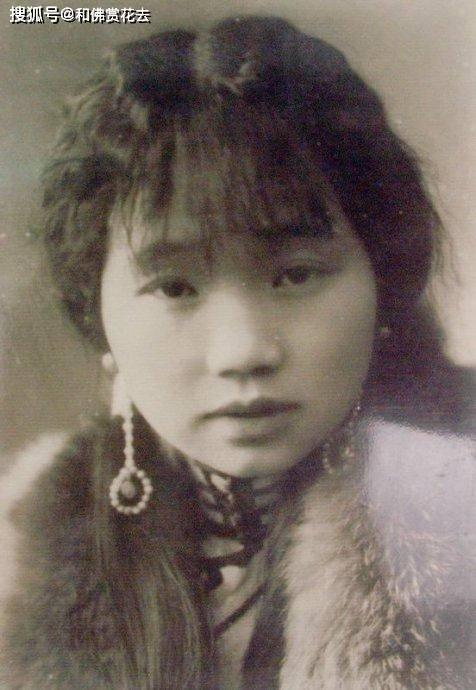 刘文彩最美姨太太16岁时照片,看不出烟花女,死时草席都买不起