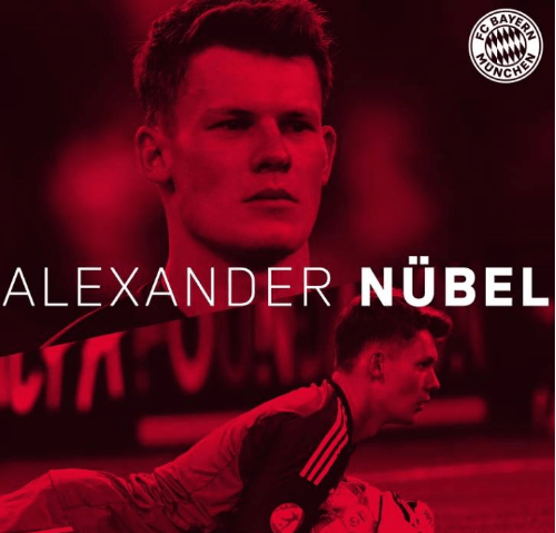 """拜仁慕尼黑正式签下新""""诺伊尔"""",诺贝尔夏窗自由转会签约5年"""