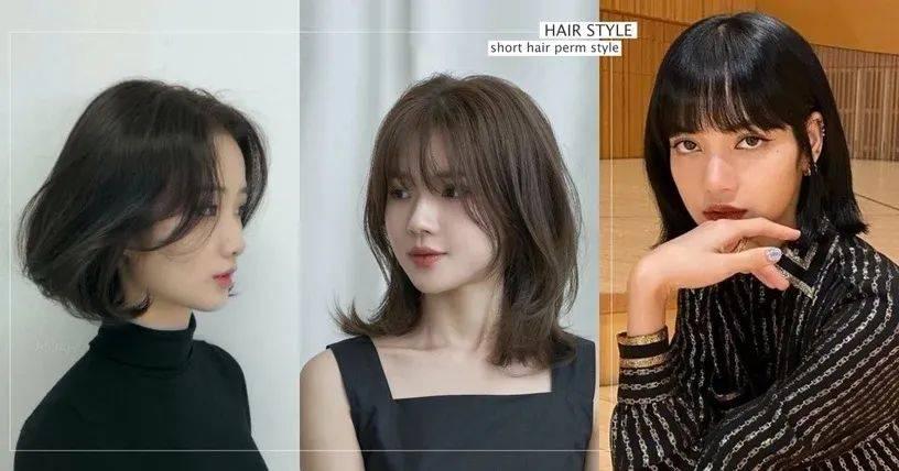 锁骨■过渡期烫发发型特搜LISA也剪了!2020年韩国锁骨短发推荐