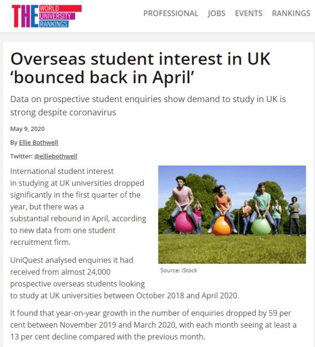 英国留学: 留英意向暴增67%,部分英国大学免推荐信啦~_英国新闻_首页 - 英国中文网