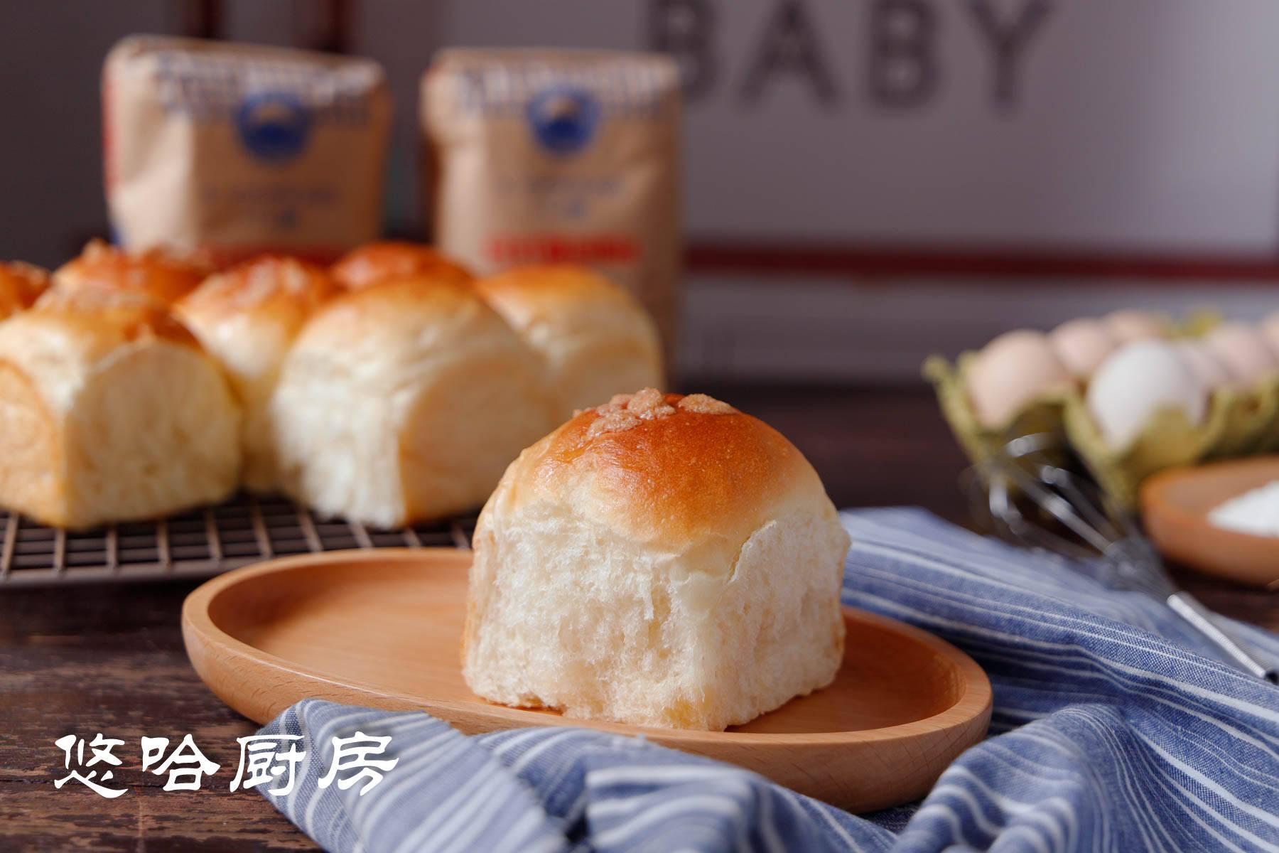 夏天做面包,巧用这一招,松软拉丝从不失败,早餐孩子点名吃