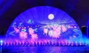 文旅景区灯光秀应该如何设计才更吸引人