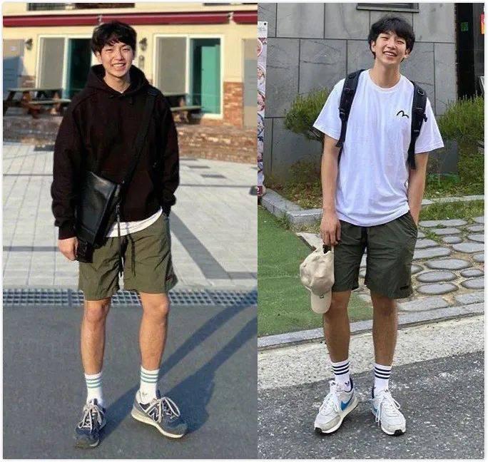 原创            夏季男士日常造型怎么搭?试试这十二套韩系学长风搭配吧