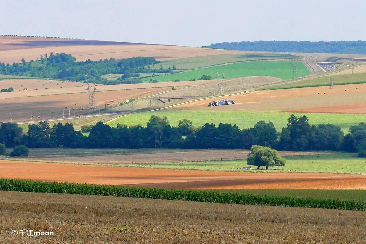 法国初夏,田园风光美如画!