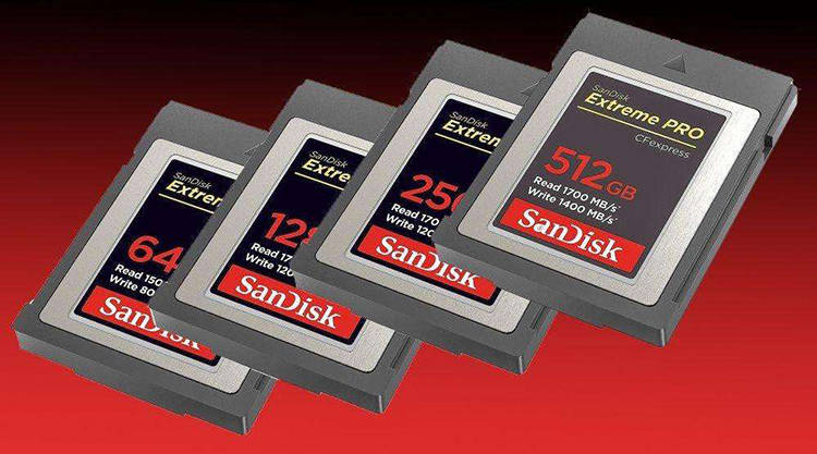 聊聊高端相机存储卡的那些事从CF到CFexpress