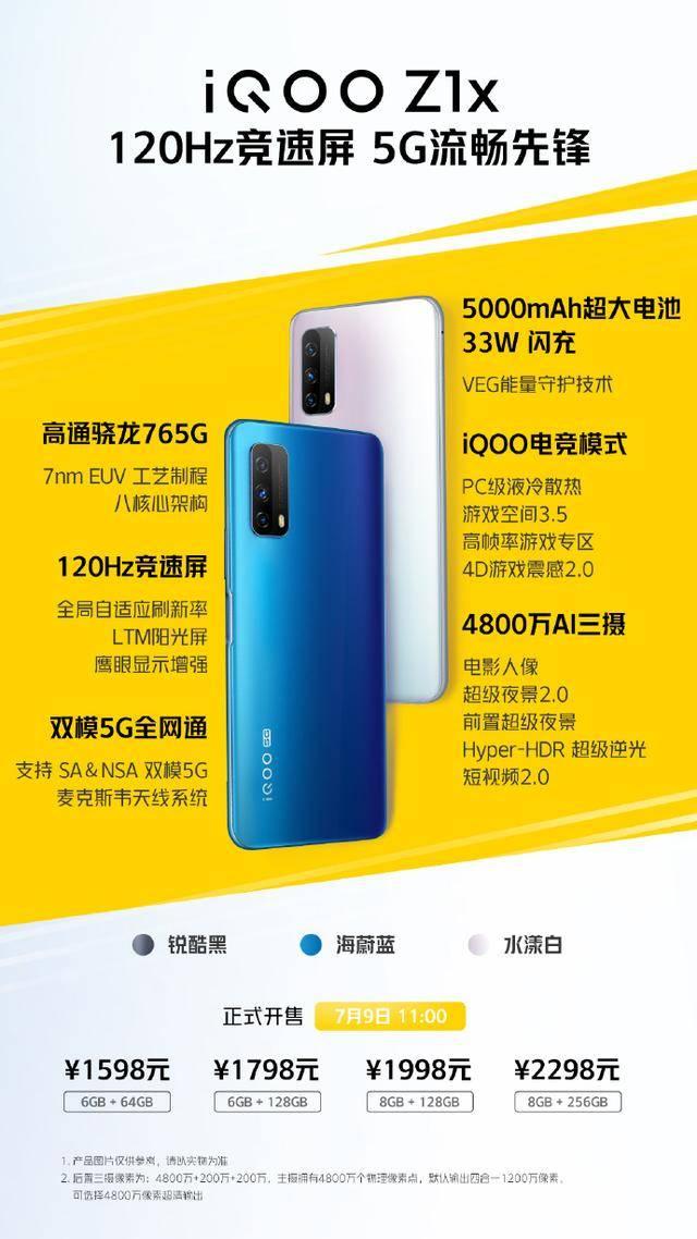 原创             iQOO Z1X:二线手机的2020求生记