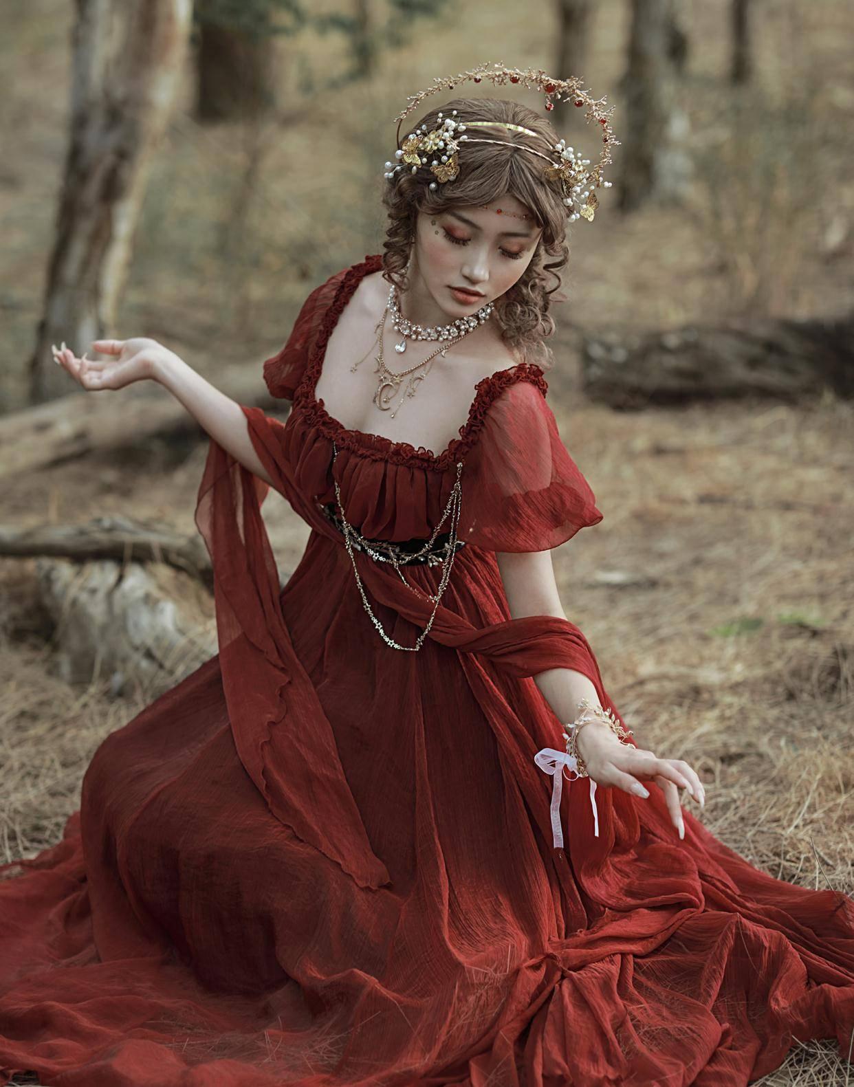 """""""希腊风""""洛丽塔?高贵优雅,还很温柔,难怪lo娘都爱穿"""