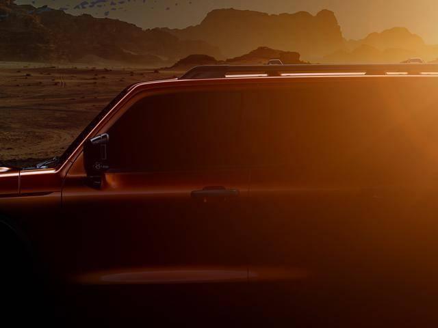 WEY越野SUV整车轮廓曝光 展现WEY品牌造型新趋势图2