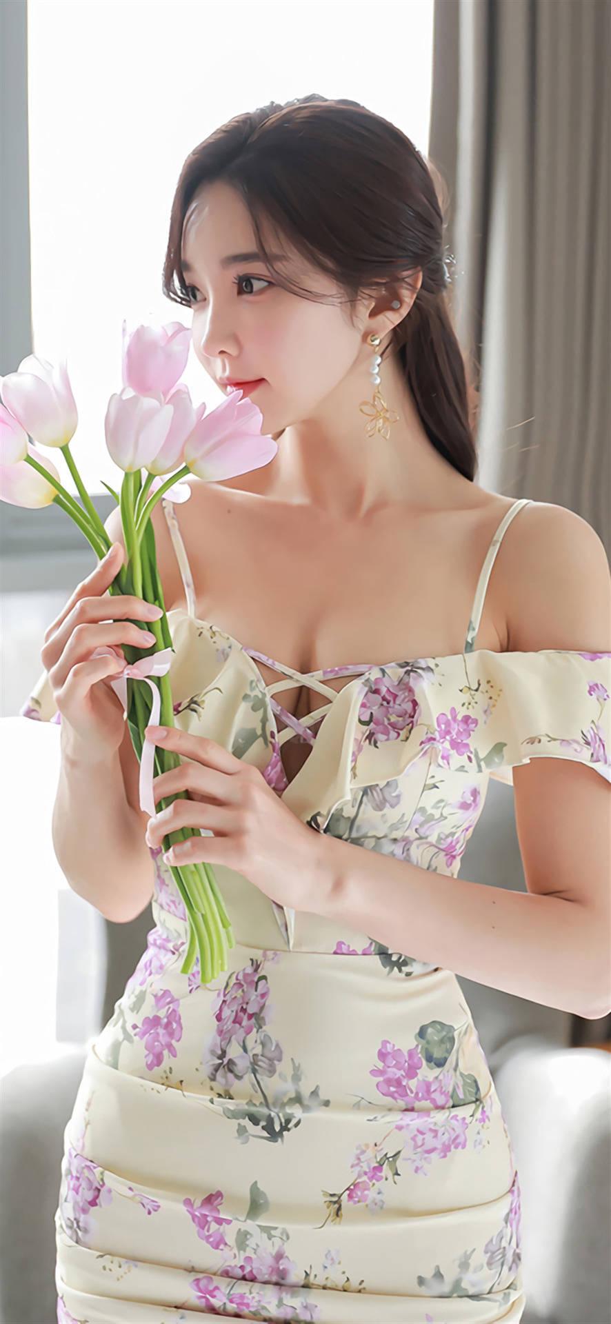 韩国女神级模特孙允珠一款美到窒息的美图