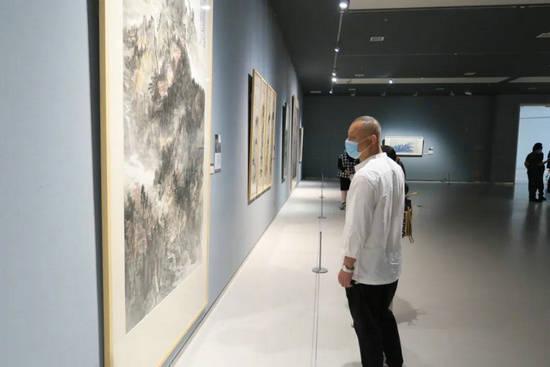 """""""第二届山东画院年展""""在山东美术馆开幕"""
