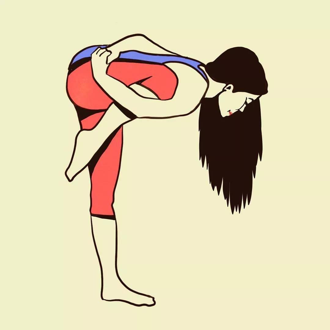 简单的瑜伽修复动作,美颜瘦身,让你气色越来越好_身体
