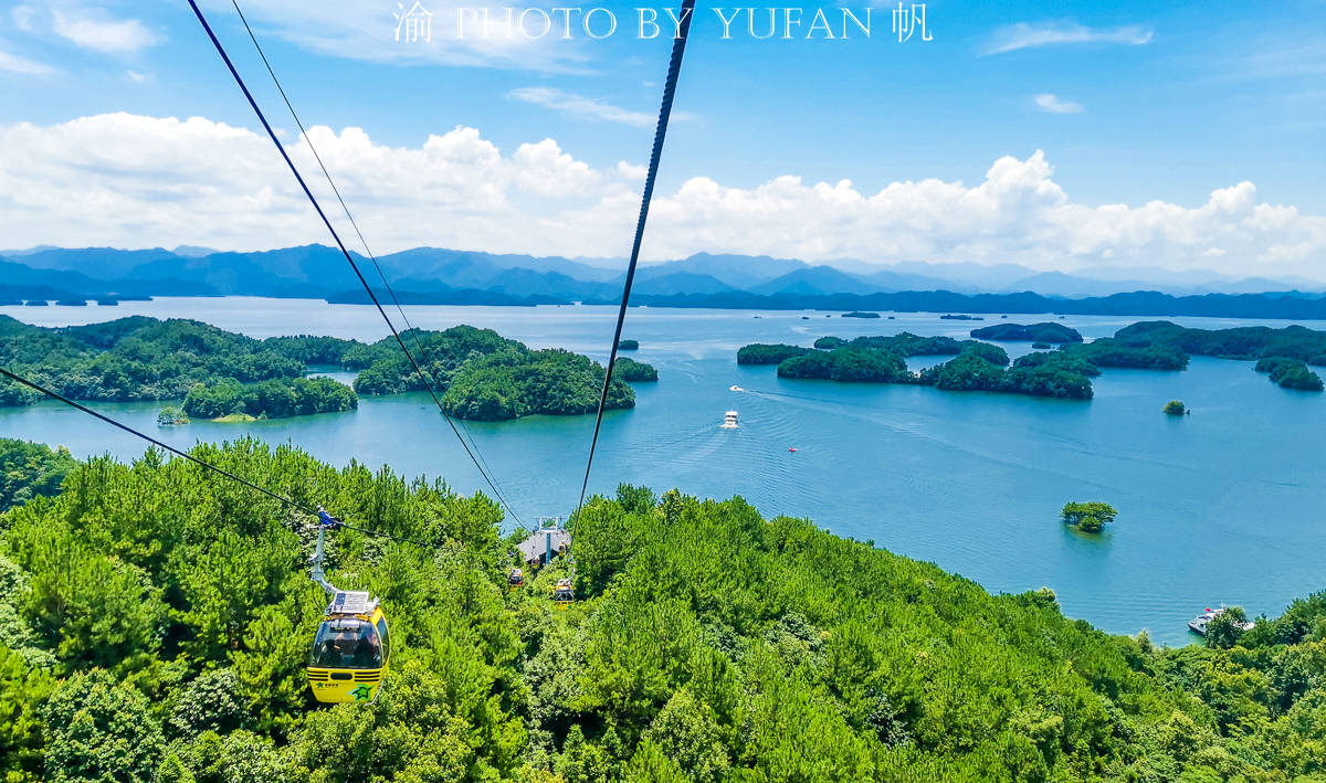 原创             中国有条建在湖上的索道,单程只要30元,全程风光如画,网友直言还想坐