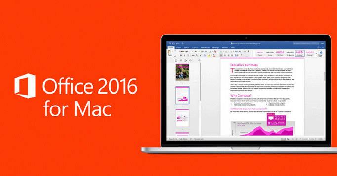 【微软将于10月停止支持Mac版office2016,其他版本仍将继续支持】