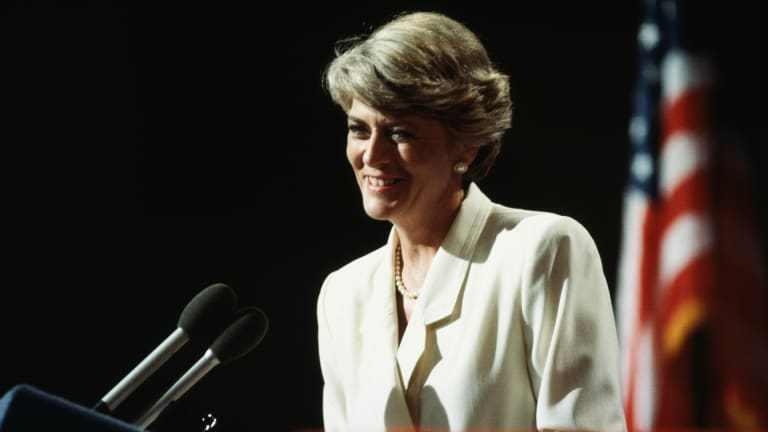 杰拉尔丁·费拉罗1984年的副总统提名是历史性的,但未能赢得胜利