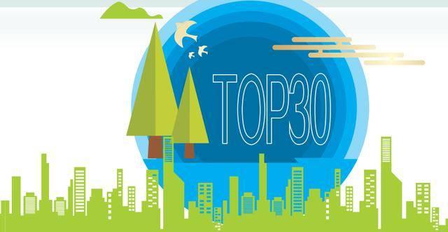 2020中国绿色地产指数TOP30报告(3)