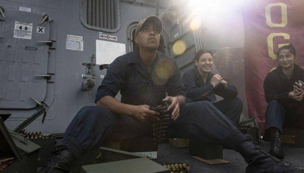刚结束东海3个月执勤,在返回关岛休整期间,美军舰炮手离奇死亡