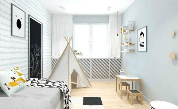 小户型空间学她家这样装修,简洁时尚不失设计感,清爽舒适很温馨