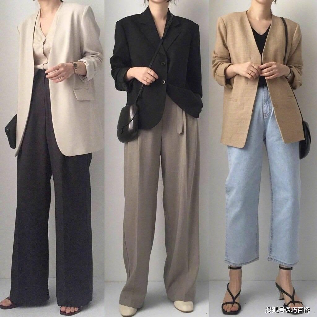 阔腿裤的27套搭配,用简约纯色裤装穿出显高显瘦的时尚!建议收藏