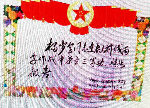"""陕西宝鸡杨岁全---""""流浪""""的英雄"""