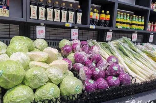 市场上有干净的蔬菜,你真的准备