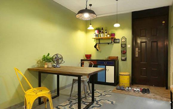 不想家里装修有雷同,复古工业风公寓装修设计,个性另类值得尝试