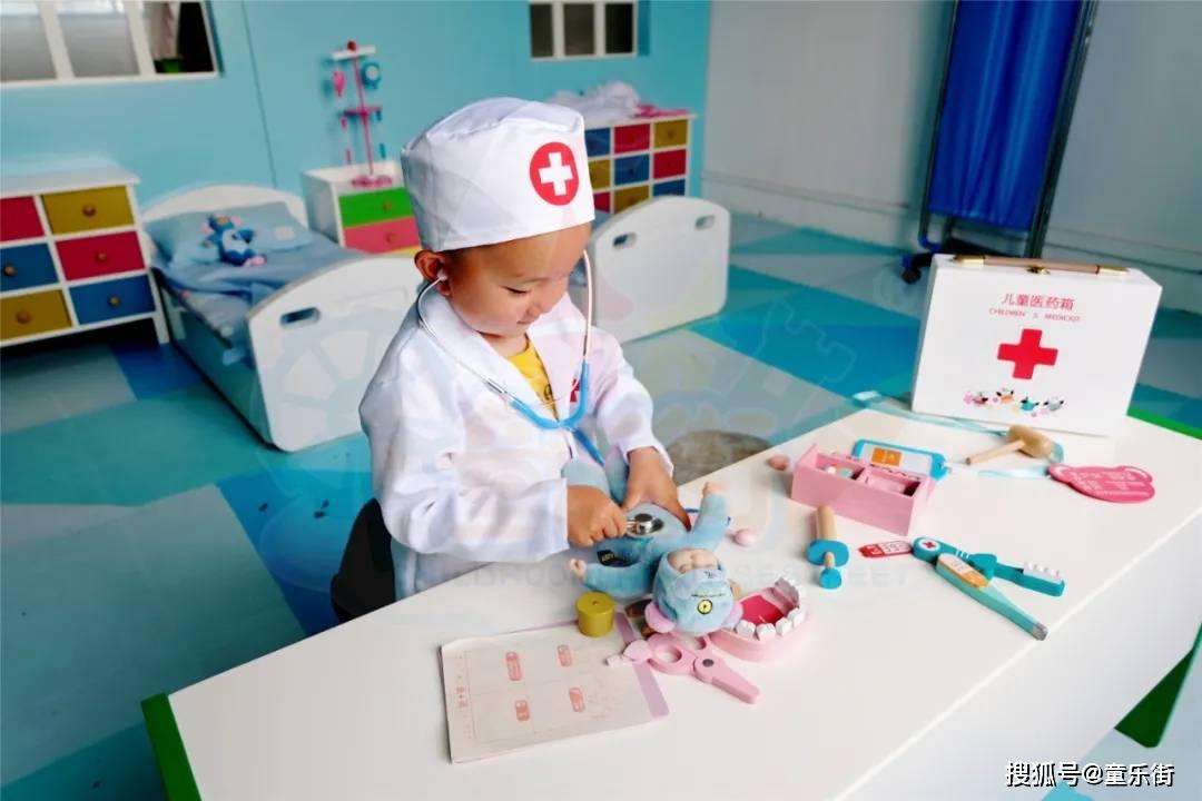 学习医护知识,让孩子们怀揣职业梦想