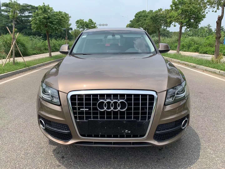15款奥迪Q5售价10.8万,稳重大气的汽车造型,实用性更强