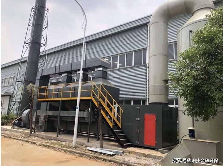 催化燃烧废气处理惩罚环保设备