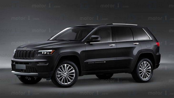 全新Jeep大切诺基渲染图曝光 线条简洁时尚/有望年内发布