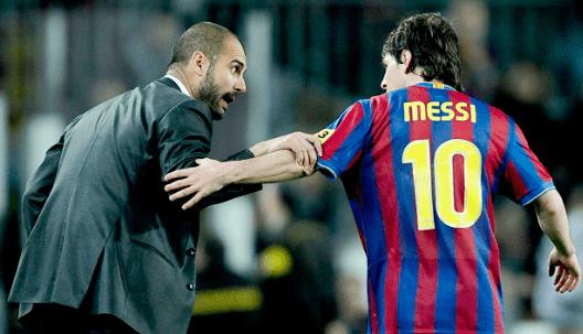 曼城给梅西开2年合同 梅西要求瓜迪奥拉留任
