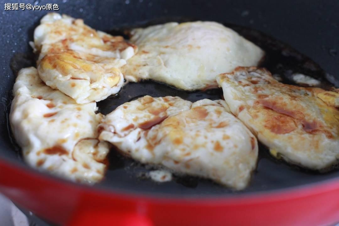荷包蛋的升级版吃法,多加一步,口感更完美