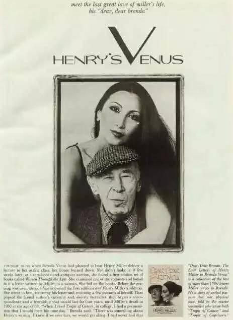 《花花公子》1986 年杂志的亨利·米勒访谈